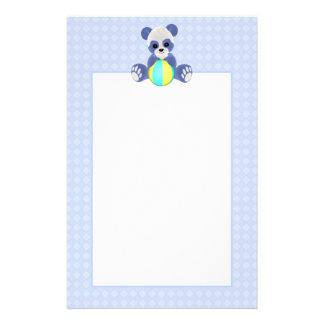 Blue Teddy Bear Stationery