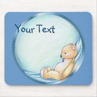 Blue Teddybear Mousepad