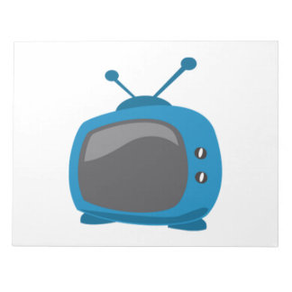 Blue Television Note Pads