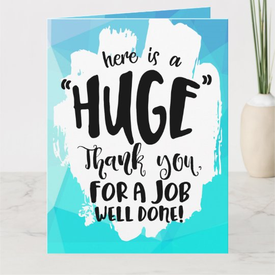 Thanks For All Your Efforts Quotes: Blue Tempest Good Job Giant Thank You