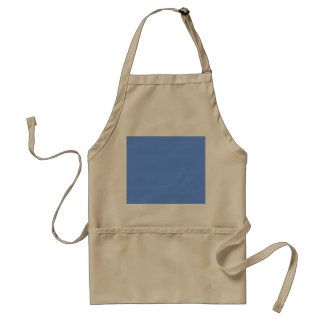 Blue Template Adult Apron
