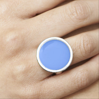 Blue Template Ring