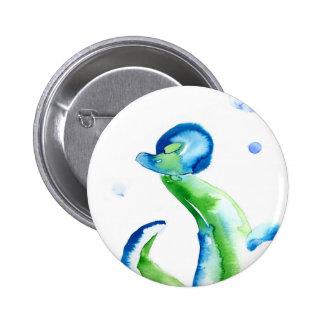 Blue Tentacles Button