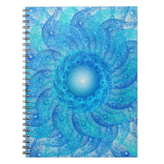 Blue Tentacles Notebook
