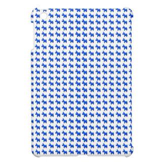 Blue Terrier Pattern iPad Mini Case