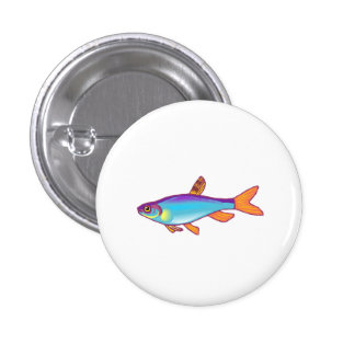 Blue Tetra Fish Pin