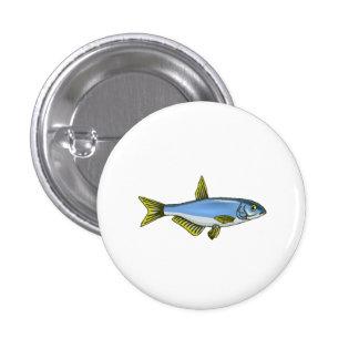Blue Tetra Fish Buttons