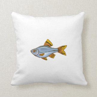 Blue Tetra Fish Pillows