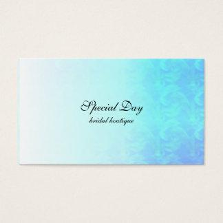 Blue Textured Business Card