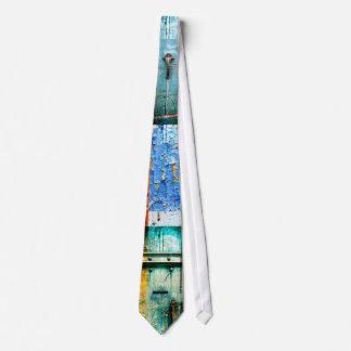 blue textures by jack lloyd neck tie