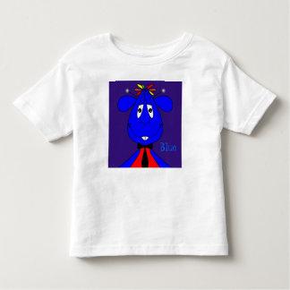 Blue the cartoon alien toddler t-shirt