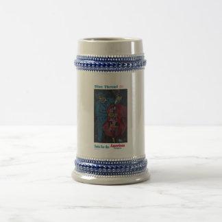 Blue Thread Suits Coffee Mugs