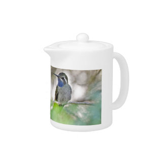 Blue-throated Hummingbird Teapot