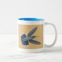 Blue-throated Hummingbird Two-tone Mug