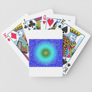 Blue through the net bicycle poker cards