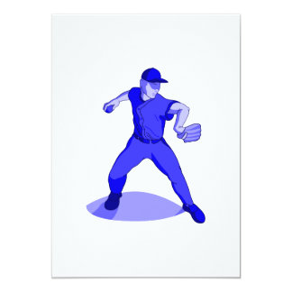 Blue Throwing Player Card