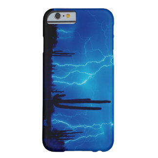 Blue thunderstorm barely there iPhone 6 case