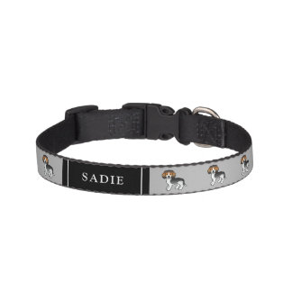 Blue Ticked Beagle Cute Dogs & Dog's Name Pet Collar