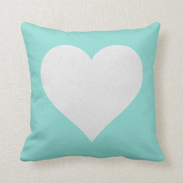 McTiffany Tiffany Aqua Blue Tiffany Wedding Tiffany Graduate Throw Pillow