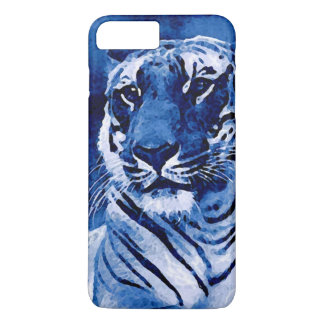 Blue Tiger Artwork iPhone 7 Plus Case