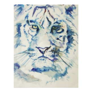 Blue Tiger Custom Letterhead