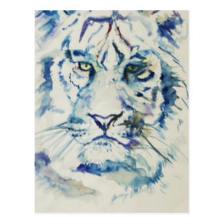 Blue Tiger Postcard