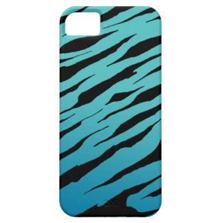 Blue Tiger Stripe iPhone5/5S Cases iPhone 5 Case