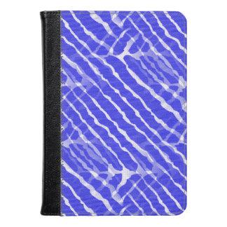 Blue Tiger Stripes Canvas Look