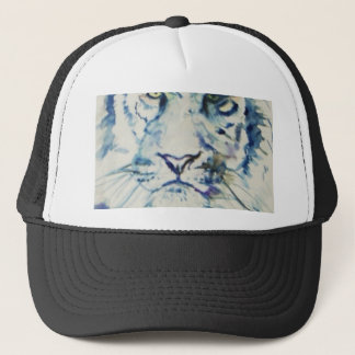 Blue Tiger Trucker Hat