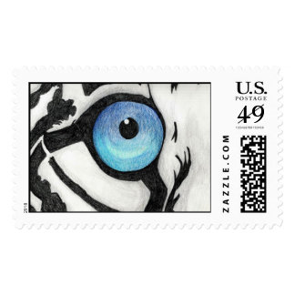 Blue Tigerseye Stamps