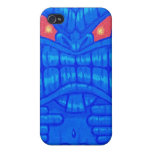 Blue Tiki iPhone 4/4s Speck Case iPhone 4/4S Cover