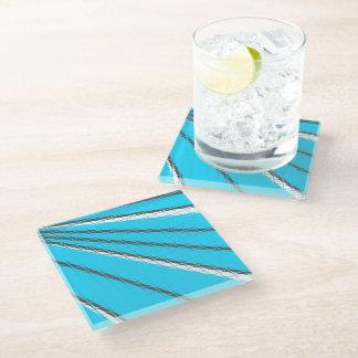 Blue Tile Mirage Coaster by John Oven