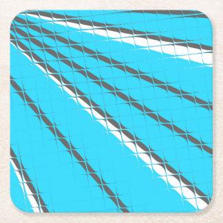 Blue Tile Mirage Coaster Set by John Oven