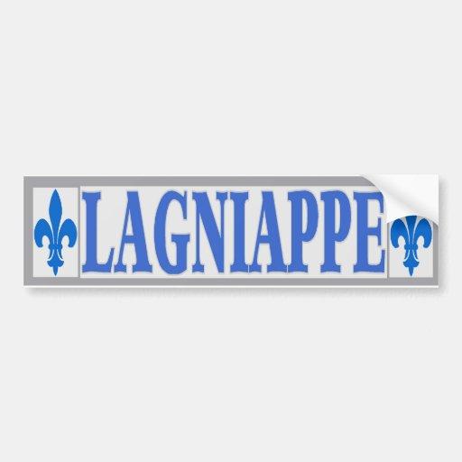 Blue Tiles Lagniappe Bumper Stickers