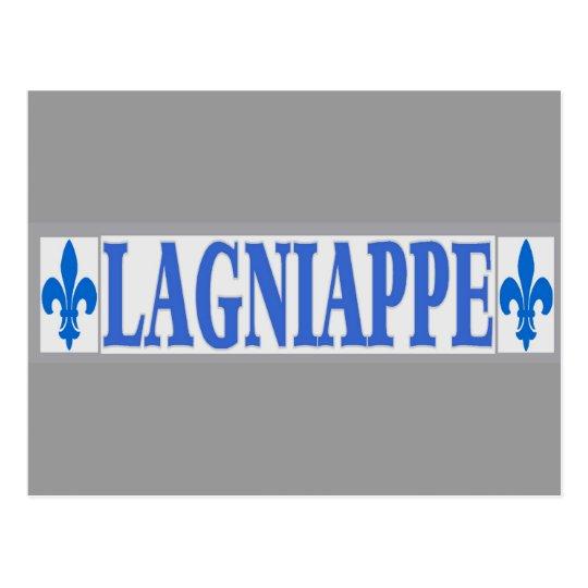 Blue Tiles Lagniappe Postcard