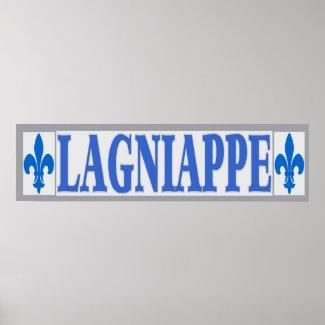Blue Tiles Lagniappe print
