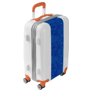 Blue Tiles Luggage