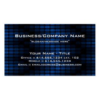 Blue Tiles Modern Contemporary Business Card