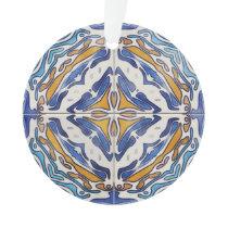 Blue Tiles Ornament