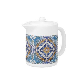 Blue Tiles Teapot