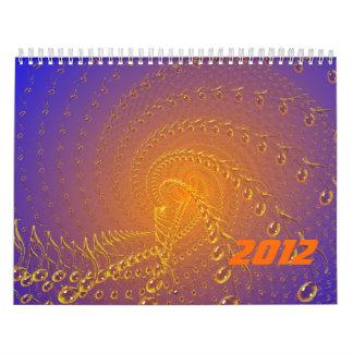 Blue timeless calendar