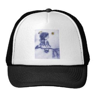 blue tint angel wishing hats