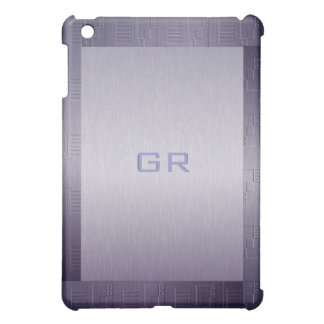 Blue Tint Stainless Steel  Case For The iPad Mini