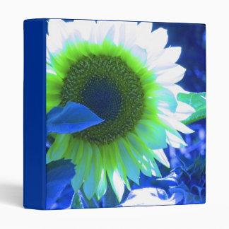 Blue Tint Sunflower Binder