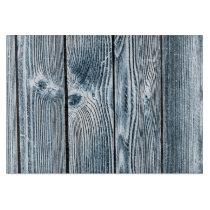 Blue Tint Wood Glass Cutting Board
