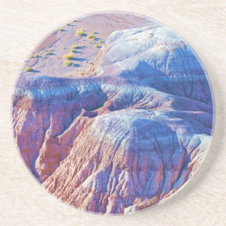 """Blue Tipped Hills"" collection Coaster"