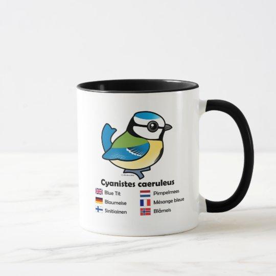 Blue Tit International Mug
