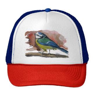 Blue tit trucker hat