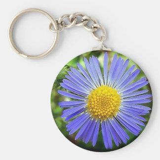 Blue To Brighten Your Day Basic Round Button Keychain