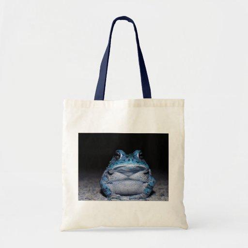 Blue Toad Tote Bag